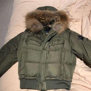 Korean style iconic chic down jacket coat