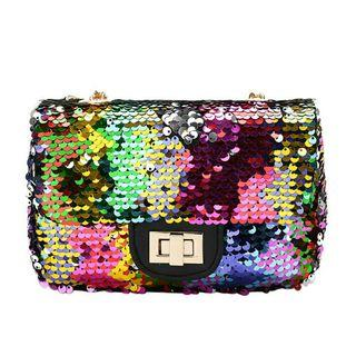 Shining Colourful Sequins Shoulder Chain Bag