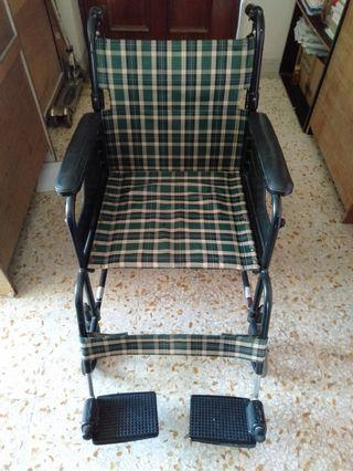 Wheel chair free blessing give away