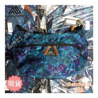 香港行貨 Gregory Satchel M 13L Blue Tapestry 藍花 經典斜揹袋 旅行袋 Offwhite Arcteryx Bape Arro 22 Madness Mystery Ranch Celine Arro22