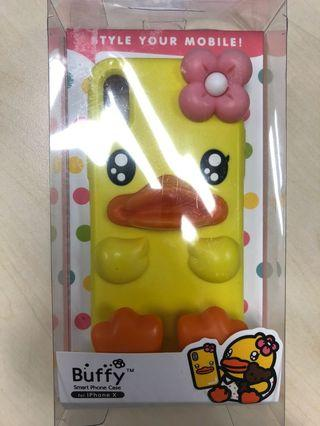New B duck iPhone X case 鴨仔矽膠 保護 手機殼 silicone 正貨
