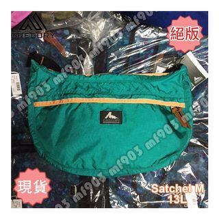 絕版 Gregory Satchel M 13L Emerald Orange 經典斜揹袋 旅行袋 Arcteryx Arro 22 Arro22 Supreme Nike Madness Mystery Ranch Celine