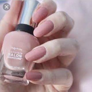 🚚 Sally Hansen Nail Polish - Rose to the Occasion