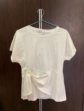 White Top new 全新簡約白衫-made in Korea