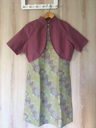 New Batik Bolero Dress
