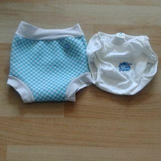 潑寶泳褲L號+舒適襯墊褲