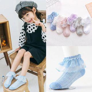 Buy 5 get 1 free! Kids Lace Socks/Baby Girl Lace Socks