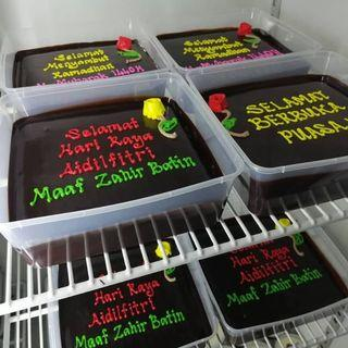 moist choc cake kek coklat premium