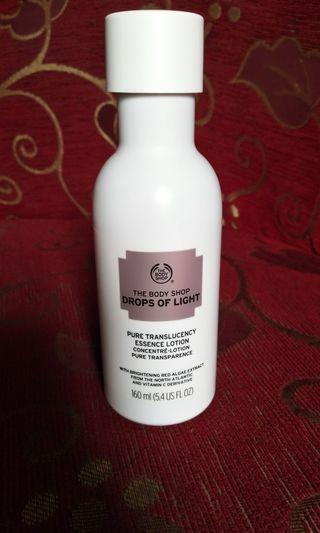 The body shop drops of light essence lotion preloved