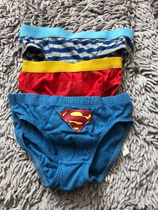Sale Mothercare panties for boys size 4-5y