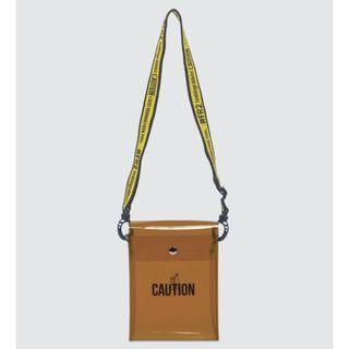 FR2 AUTHENTIC CLEAR SHOULDER BAG