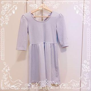 Evelyn Pale Blue Dress