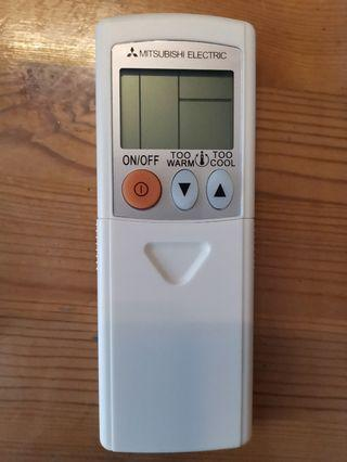 🚚 Used a few times, almost new compatible Mitsubishi air conditioning airconditioner remote