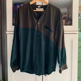 Vintage Colour block Shirt
