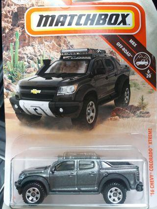 Matchbox 16 Chevy Colorado Extreme