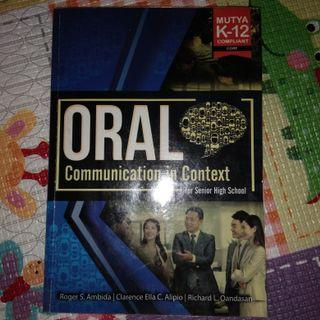 Oral Communication in Context for SHS