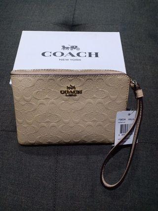 Authentic Original Coach Wristlet