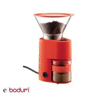 丹麥Bodum《e-bodum》多段式磨豆機(紅) 26350302R