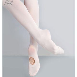 Adult Women Pink Convertible Ballet Dance Tights