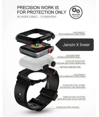 Waterproof Apple Iwatch Strap by jansin & APPLE Watch 44mm