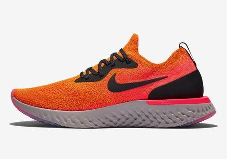 Brand New Nike Epic React - Copper Flash