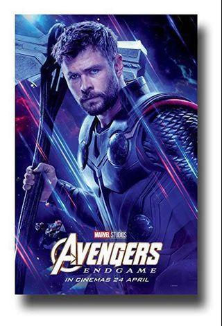 Avengers Poster End Game Thor 雷神海報
