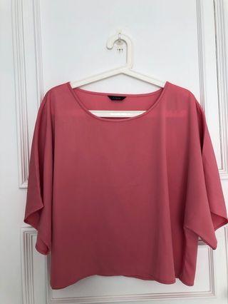 Marks & Spencer pink top
