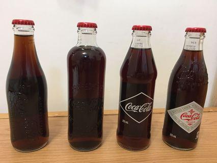 可口可樂收藏品 - Heritage bottle set