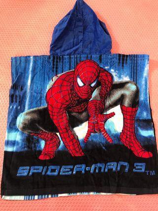 hoodie towel / handuk ponco anak #BAPAU