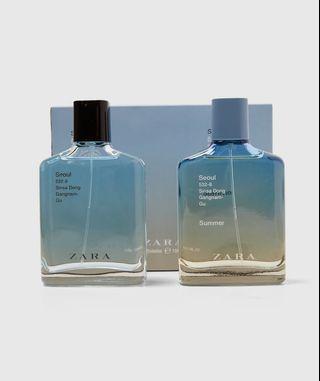 Parfum zara man summer couple