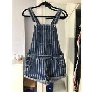 Striped Overalls / Dungaree