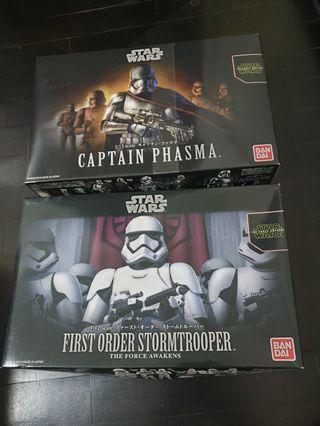 Star Wars Bandai Figures