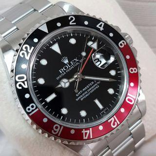 Rolex GMT Master II 16710 COKE full set RSC serviced