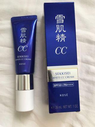 Sekkisei White CC Cream