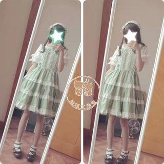 🚚 🎀蘿莉塔lolita千層派連衣裙jsk🎀