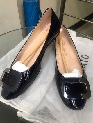 Staccato flat shoes (dark blue)