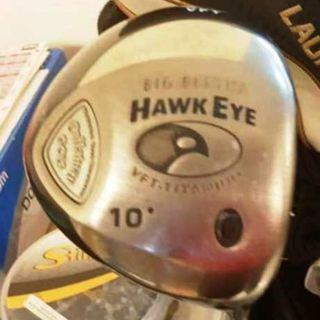 Callaway Hawkeye VFT (variable face technology) driver