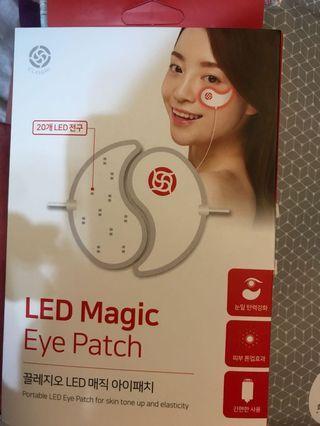 Led magic eye patch