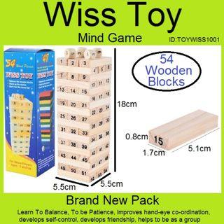 Wiss Toys - Mind Game - Age 5 & Up can play