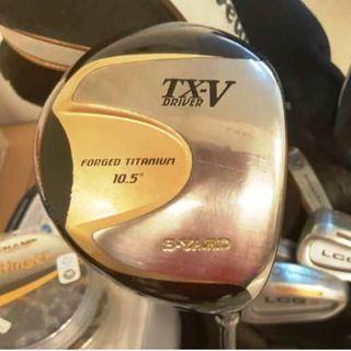 SYard TX-V forged Titanium driver