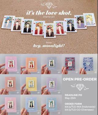 EXO ENAMEL PINS by @heymoonlight_id