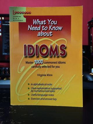 Book on Idioms