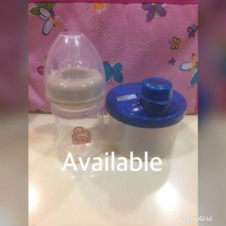 Anakku Milk Powder Dispenser & Tenderly Milk Bottle