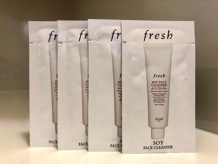 Fresh Soy Face Cleanser 大豆卸妝潔面乳 4ml