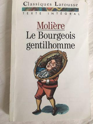 Moliere- le bourgeois gentilhomme