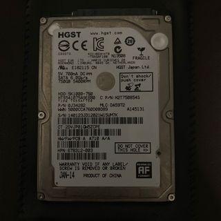 "🚚 750GB 2.5"" Hard Disk"
