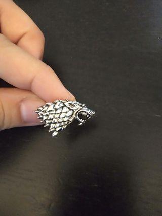 Game of Thrones House Stark cufflinks