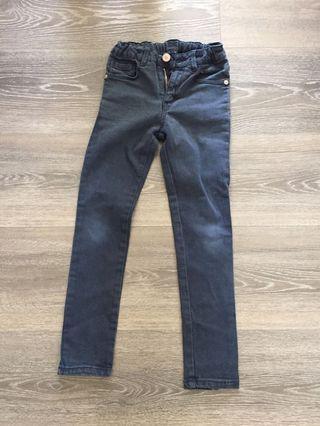 🚚 Zara Boys Dark blue denim jeans 120cm