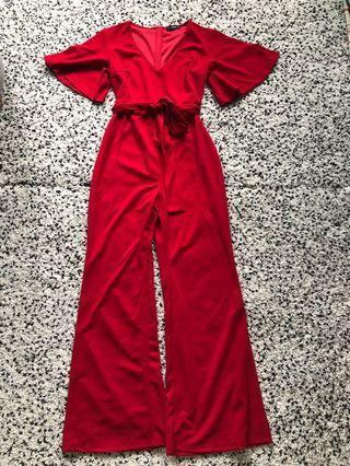 🚚 Red jumpsuit