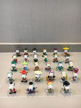 LIMITED EDITION MCD Snoopy Figurines
